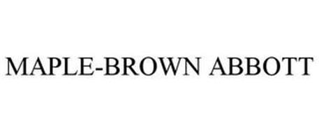 MAPLE-BROWN ABBOTT