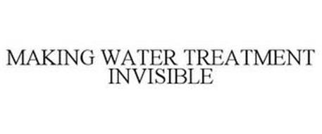 MAKING WATER TREATMENT INVISIBLE