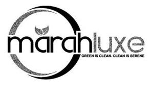 MARAHLUXE GREEN IS CLEAN. CLEAN IS SERENE
