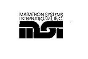 MARATHON SYSTEMS INTERNATIONAL INC. MSI