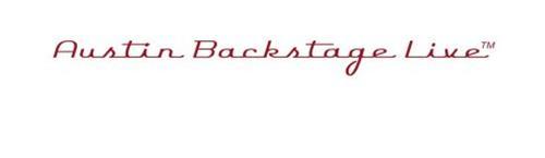 AUSTIN BACKSTAGE LIVE