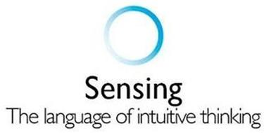 SENSING THE LANGUAGE OF INTUITIVE THINKING