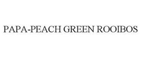 PAPA-PEACH GREEN ROOIBOS