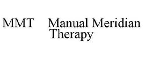 MMT MANUAL MERIDIAN THERAPY