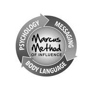 MARCUS METHOD OF INFLUENCE PSYCHOLOGY MESSAGING BODY LANGUAGE