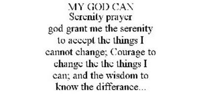 MY GOD CAN