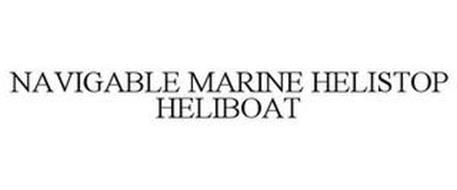 NAVIGABLE MARINE HELISTOP HELIBOAT