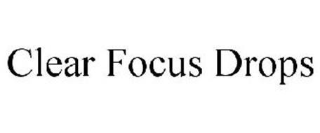 CLEAR FOCUS DROPS