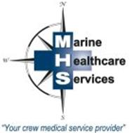 """MARINE HEALTHCARE SERVICES N W S """"YOUR CREW MEDICAL SERVICE PROVIDER"""""""