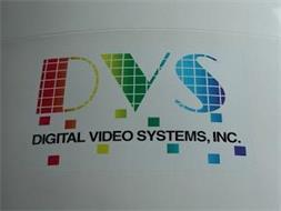 DVS DIGITAL VIDEO SYSTEMS, INC