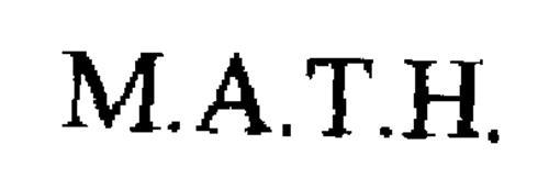 M.A.T.H.
