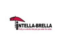 INTELLA-BRELLA FINALLY AN UMBRELLA THAT PUTS YOU UNDER THE CENTER.