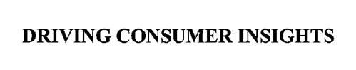 DRIVING CONSUMER INSIGHTS