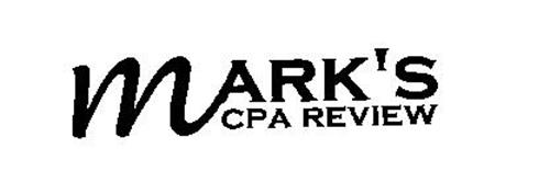 MARK'S CPA REVIEW