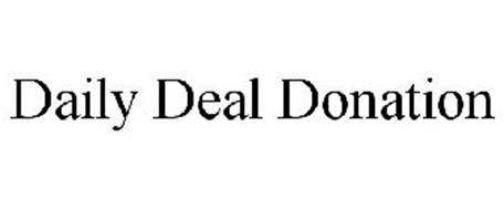 DAILY DEAL DONATION