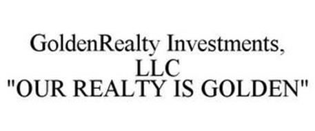 """GOLDENREALTY INVESTMENTS, LLC """"OUR REALTY IS GOLDEN"""""""