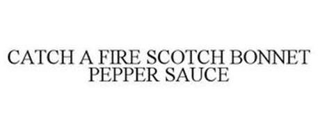 CATCH A FIRE SCOTCH BONNET PEPPER SAUCE