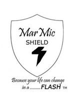 MARMICSHIELD BECAUSE YOUR LIFE CAN CHANGE IN A ......... FLASH