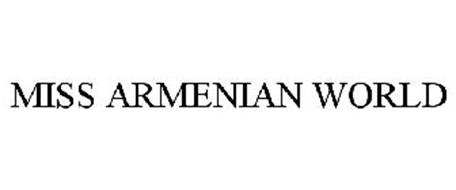 MISS ARMENIAN WORLD