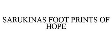 SARUKINAS FOOT PRINTS OF HOPE