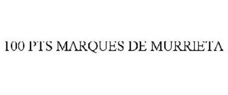 100 PTS MARQUES DE MURRIETA