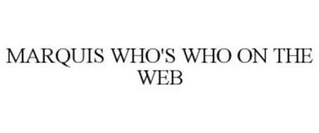 MARQUIS WHO'S WHO ON THE WEB