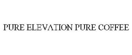 PURE ELEVATION PURE COFFEE