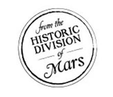 FROM THE HISTORIC DIVISION OF MARS