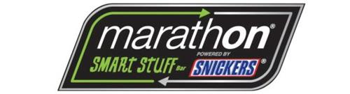 MARATHON SMART STUFF BAR POWERED BY SNICKERS Trademark of Mars, Incorporated. Serial Number