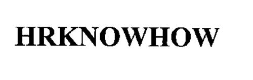 HRKNOWHOW
