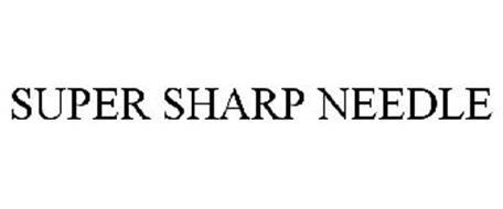 SUPER SHARP NEEDLE