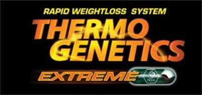 THERMO GENETICS EXTREME RAPID WEIGHTLOSS SYSTEM G TECH
