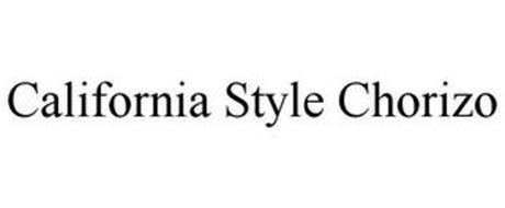 CALIFORNIA STYLE CHORIZO