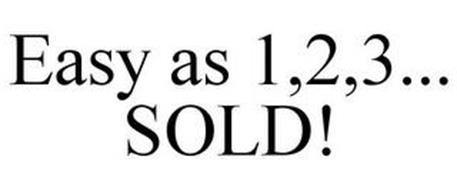 EASY AS 1,2,3... SOLD!
