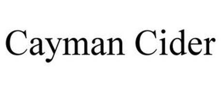 CAYMAN CIDER