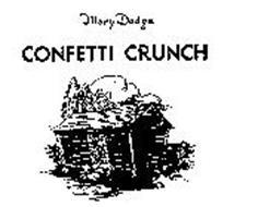 MARY DODGE CONFETTI CRUNCH