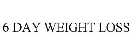 6 DAY WEIGHT LOSS