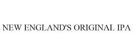 NEW ENGLAND'S ORIGINAL IPA