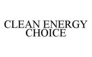 CLEAN ENERGY CHOICE