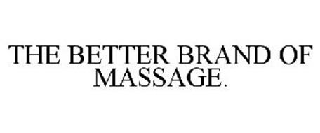 THE BETTER BRAND OF MASSAGE.