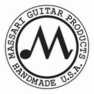 M MASSARI GUITAR PRODUCTS HANDMADE U.S.A.