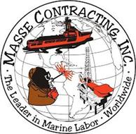 MASSE CONTRACTING, INC. · THE LEADER IN MARINE LABOR · WORLDWIDE ·