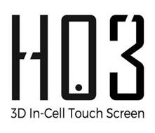 HO3 3D IN-CELL TOUCH SCREEN
