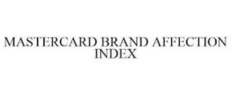 MASTERCARD BRAND AFFECTION INDEX