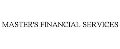 MASTER'S FINANCIAL SERVICES