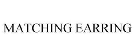 MATCHING EARRING