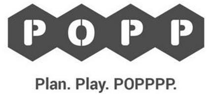 POPP PLAN. PLAY. POPPPP.