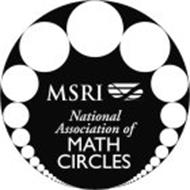 MSRI NATIONAL ASSOCIATION OF MATH CIRCLES