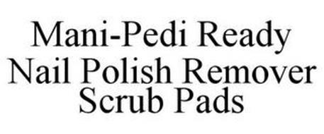 MANI-PEDI READY NAIL POLISH REMOVER SCRUB PADS