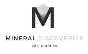 M MINERAL DISCOVERIES VITAL NUTRITION